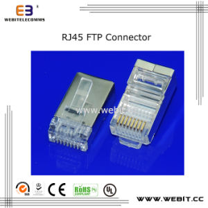 CAT6 RJ45 FTP 8P8C Connector pictures & photos