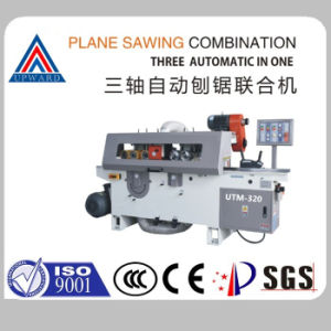 Utm-320 Triaxial Automatic Wood Planer Sawing Machine Table Saw pictures & photos