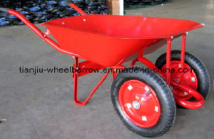 78 L 5 Cbf Wheel Barrow Wb7500 with 13X3 Solid Wheel pictures & photos