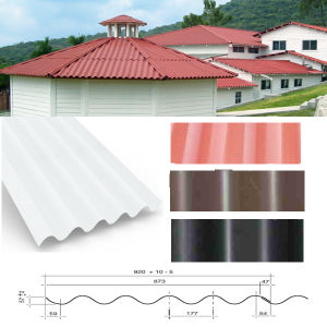 New Popular Product Teja P7 Plastic PVC Roof Sheet pictures & photos