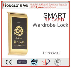 High-End Anti-Theft Wardrobe Lock (RF888) pictures & photos