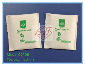 6600bags Per Hour/Crimped Outer Bag/Tea Bag Packing Machine (CCFD6) pictures & photos