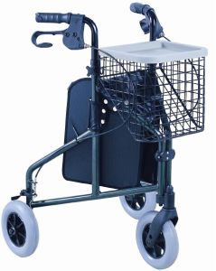 Lowest Price Steel Three Wheel Rollator