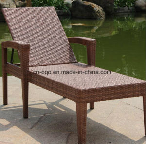 2017 Hotel Swimming Pool Furniture Rattan Sun Bed (T511) pictures & photos