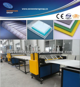 PP PE PC Hollow Sheet Extruder Machine pictures & photos