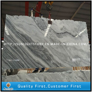 China Grey/White Marble Slabs for Tiles and Kitchen Countertops pictures & photos
