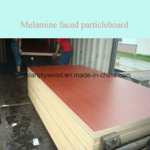 Melamine Faced Chipboard / Melamine Faced Particleboard pictures & photos