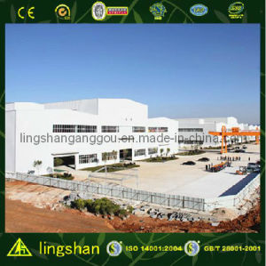 Prefabricated Steel Structure Facory Workshop Building (LS-SS-001) pictures & photos
