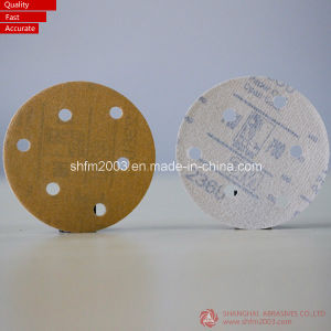 6 Inch Abrasive Film Discs with 6 Holes (High Quality) pictures & photos