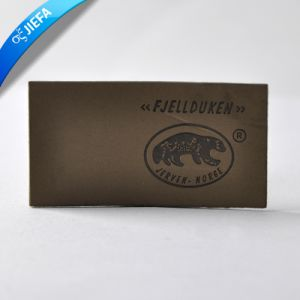 Custom Logo Leather Label for Clothing pictures & photos