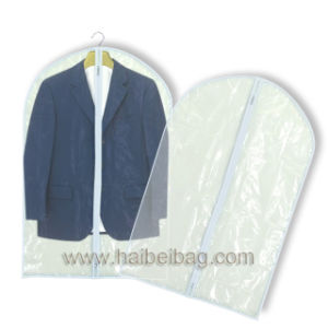 Clear Showerproof PEVA Suit Cover pictures & photos