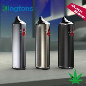 2016 Innovative Item Kingtons Best Brand Black Widow Super Slim Vapor, Ceramic Heating Chamber Inside pictures & photos