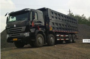 Cnhtc HOWO A7 8X4 Tipper Truck pictures & photos