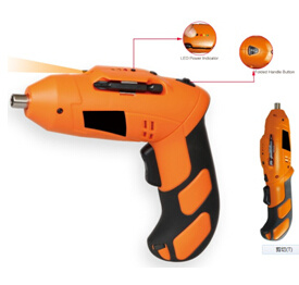 Electric Screwdriver 3.6volt Ni-CD with LED Work Light pictures & photos
