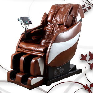 Genuine Leather Massage Chair pictures & photos