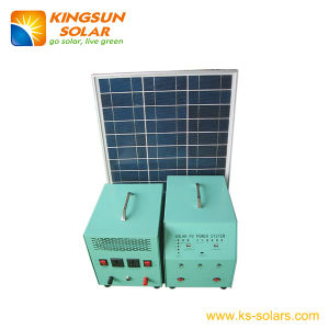 Solar Home Power System Panel: 45W; Battery: 24ah pictures & photos