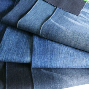 Cheap Raw Denim Fabric Material Wholesale Jacquard Denim Fabric pictures & photos
