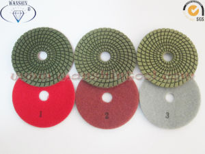 3-Step Wet Polishing Pads for Granite pictures & photos