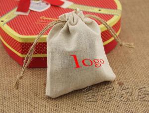 Organic Cotton Muslin Drawstring Bags pictures & photos