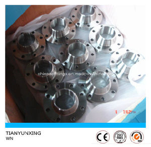 A182 F316L Wn Welded Neck Stainless Steel DIN 2633 Flange pictures & photos