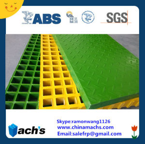 FRP Molded Grate Passed ABS Cer and SGS Report pictures & photos
