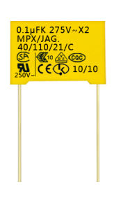 X2 Safety Standard Film Capacitor (CG-X2-0.1uF)