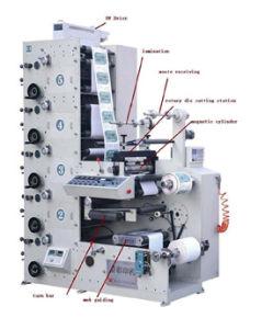 Automatic Plastic Film/Bags Flexo Printing Machine pictures & photos