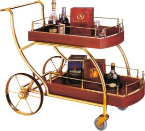 Top Grade Types of Modern Four Wheels Liquor Trolley (FW-36) pictures & photos
