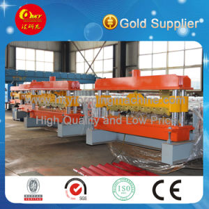Steel Tile Roof and Wall Panel Roll Forming Machine pictures & photos