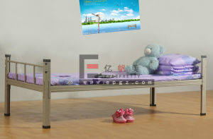 Dormitory Furniture Student Single Bed for Bedroom pictures & photos