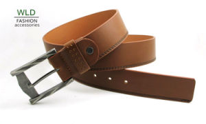 Classic and Basic Man Belt with Split Leather Linning M686 pictures & photos