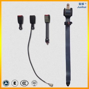 Three Point Elr Safety Belt, Motor/Car/Airplane Polyester Seat Belt with CCC&DOT&Emark Certificates (JH-LU-3Z001)