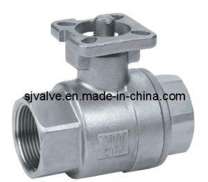 2PC Ball Valve with ISO5211 pictures & photos