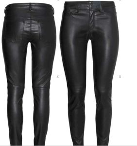 Hot Sale Sexy Fashion Women Skinny Women Leather Leggings pictures & photos