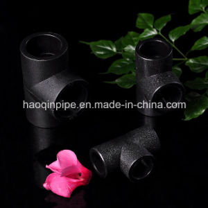 HDPE Pipe Fitting for Water Supply Tee pictures & photos