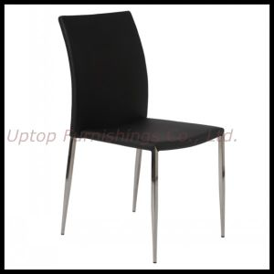 Stainless Steel Stackable Leather Restaurant Dining Chair (SP-LC210) pictures & photos