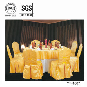 Golden Dining Room Chair Cover (YT-1007) pictures & photos