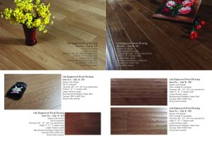 Teak Enigneered Wood Flooring 12/14/15/18mm pictures & photos
