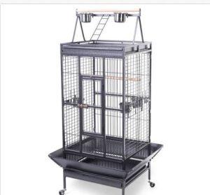 Black Big Metal Bird Cage pictures & photos