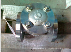 API Stainless Steel Flange Check Valve pictures & photos