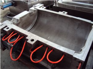 Used Mould Old Mould 100 L Professional Chemical Plastic Barrels Mould