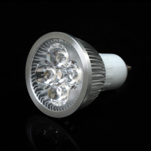 GU10 3W 85-265V Warm White LED Spotlight pictures & photos
