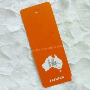 Orange Cmyk Pantone Print Hang Label for Garment pictures & photos