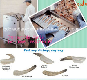 Shrimp Peeling and Devein Machine pictures & photos