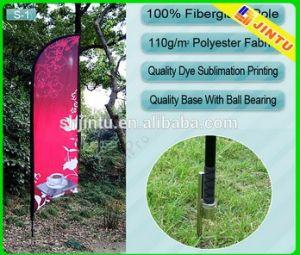 Custom 100% Polyester Fabric Convex Flag