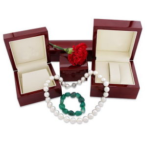 2015 High Elegent Wooden Jewelry Box (WO-146)