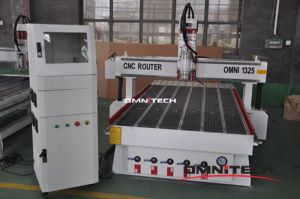 Rotary Beside Cylinder Wood Engraving Machine for Sofa Leg pictures & photos