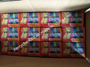 100PCS White/Colour Dustless Chalk, Sky-501 pictures & photos