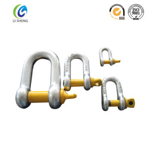 Fastener G210 U. S. Load Rated Dee Shackle for Link Chains pictures & photos