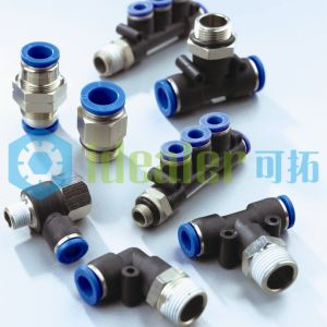 High Quality Pneumatic Brass Fitting with ISO9001: 2008 (PHF08-G01) pictures & photos